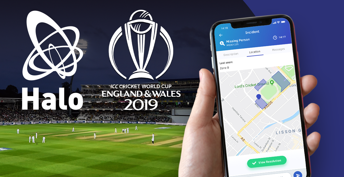 HALO keeps over a million eventgoers safe at the Cricket World Cup 2019