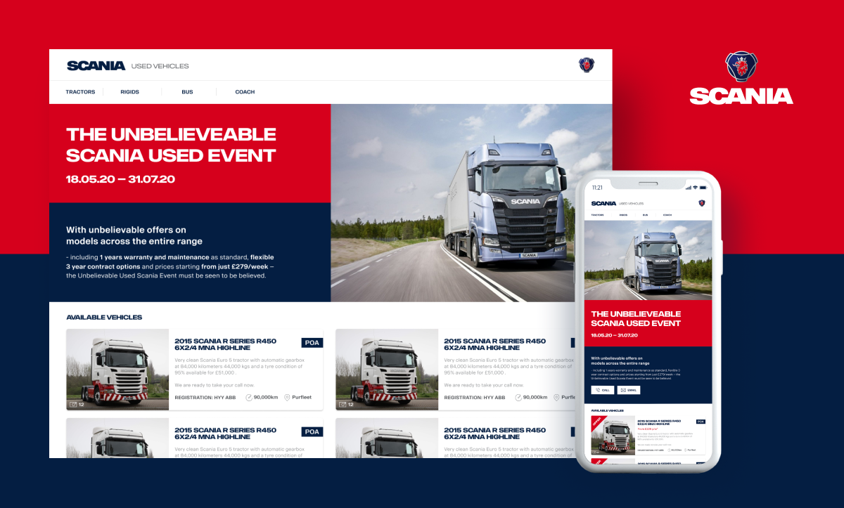 Helping Scania UK outmanoeuvre its competition